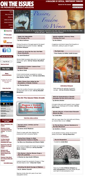 2010 Winter edition of On The Issues Magazine Online