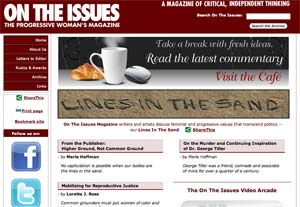 Lines in the Sand, 2009 Spring edition of On The Issues Magazine Online