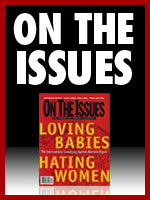 On The Issues Magazine 150x200 banner