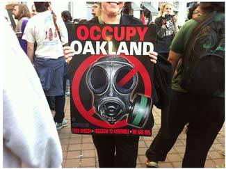 Occupy Wall Street in Oakland