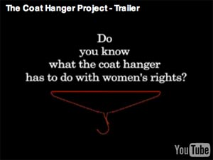 The Coat Hanger Project, a film by Angie Young